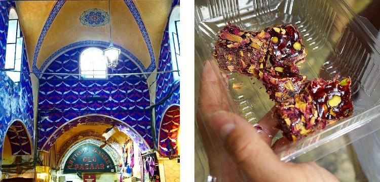 Euriental | the Grand Bazaar and lokum in Istanbul, Turkey