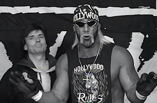 WCW Halloween Havoc 1997 - Eric Bischoff and Hulk Hogan claimed Hogan wouldn't wrestle Piper
