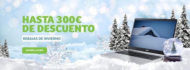 Mejores ofertas de las Rebajas de invierno de la Acer Store