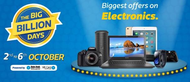 Best Deals & Offers at Flipkart Big Billion Days Sale