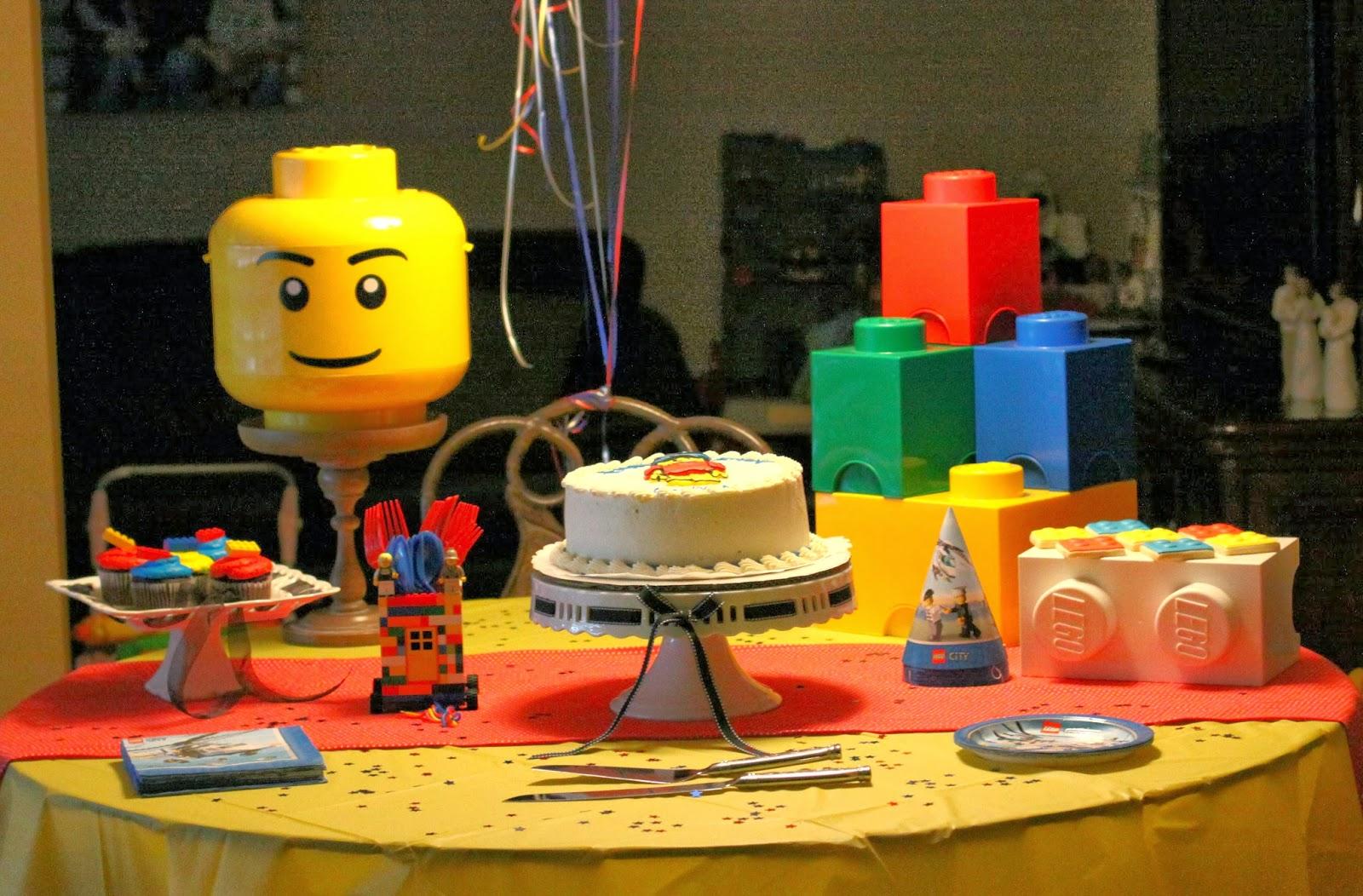 Life As A Frazier Gavins Lego Birthday Party