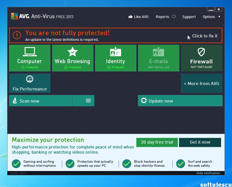 avg for xp free download