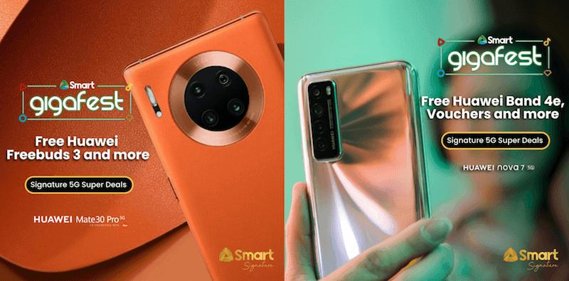 Huawei Mate 30 Pro and nova 7