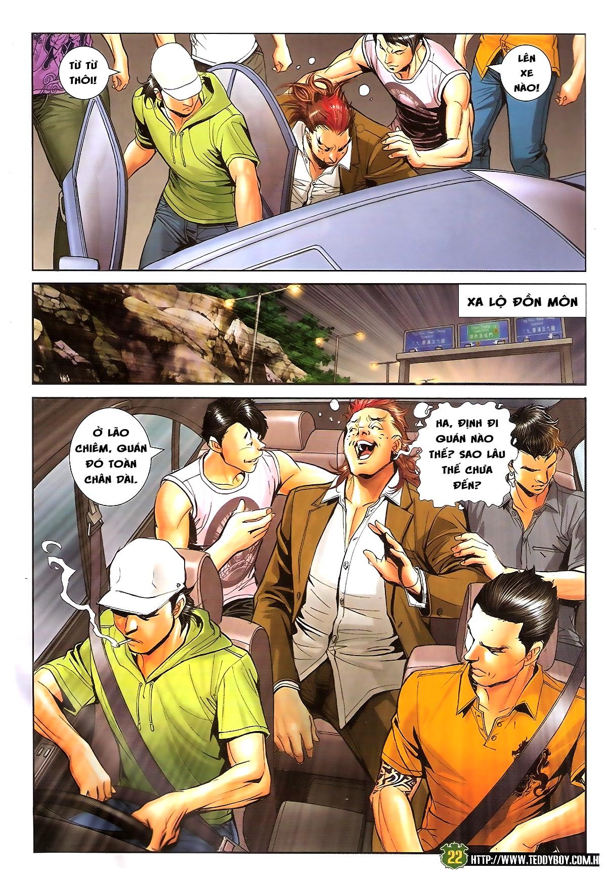 Người Trong Giang Hồ chapter 1646: đại hạn lâm đầu trang 18