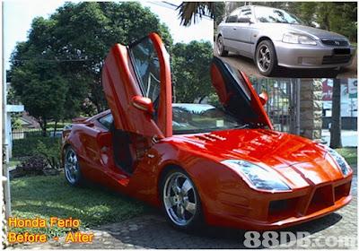 Gambar modifikasi terbaik mobil sedan 2012