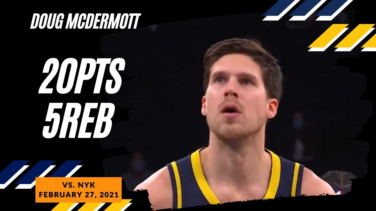 Doug McDermott 20pts 5reb vs NYK | February 27, 2021 | 2020-21 NBA Season
