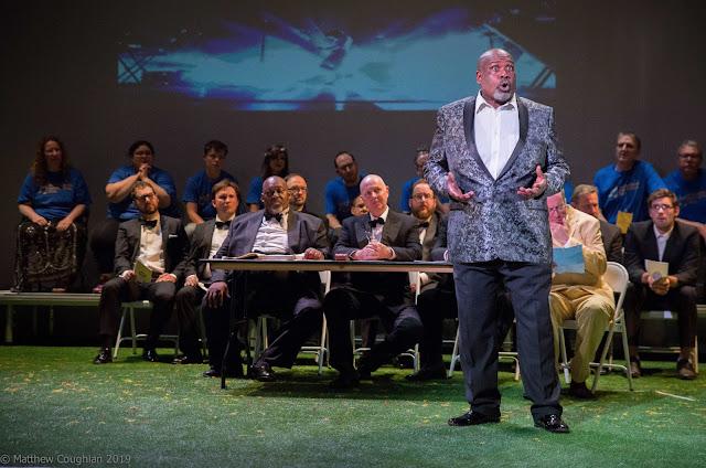Wagner: Die Meistersinger - Keel Watson, Ronald Samm - Fulham Opera (Photo Matthew Couglan)