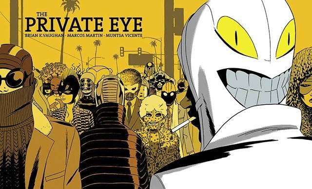 Private Eye es un webcómic de Brian K Vaughan