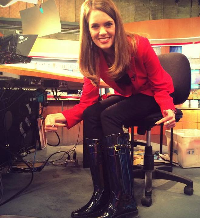 The Appreciation Of Booted News Women Blog Sydney Benter Points Out Her Boots On Local 12