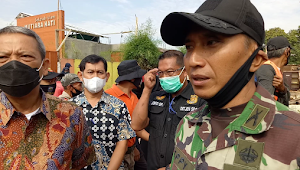 Kolonel Eppy, Baru 126 Bangli Yang Ditertibkan di Sungai Cipamokolan