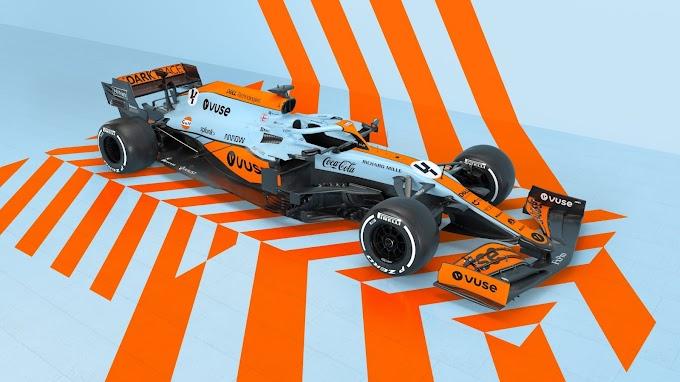 McLaren zaprezentował specjalne malowanie na GP Monaco 2021