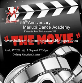 "Marlupi Dance Academy Jazz Performances 2011 ""The Movie"" 17 April 2011 @  Gedung Kesenian Jakarta"