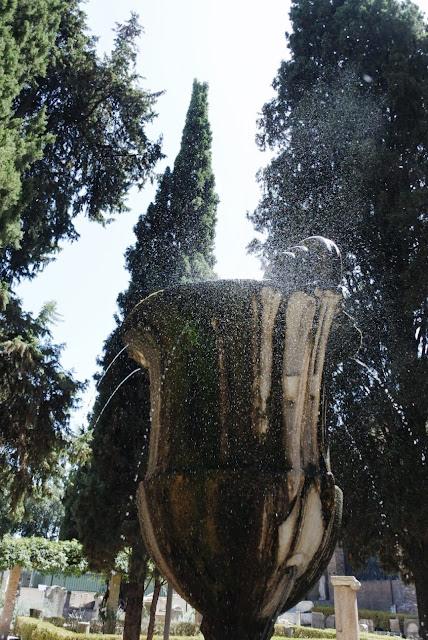 suihkulähteitä Diocletianuksen kylpylämuseossa