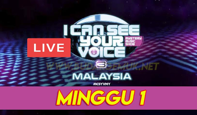 [LIVE] I Can See Your Voice Malaysia 3 Minggu 1 (16.2.2020)