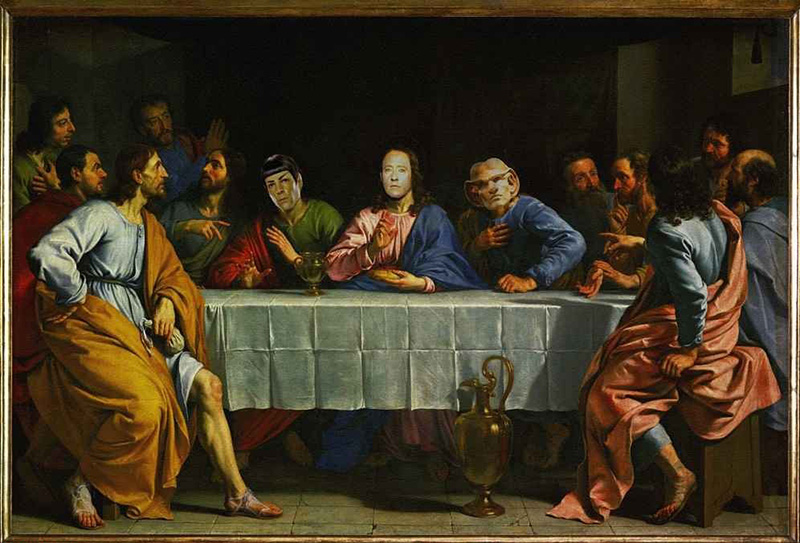 A Star Trek Last Supper