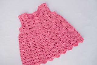 4-Crochet Imagen Vestido a crochet en forma de pichi o peto muy fácil