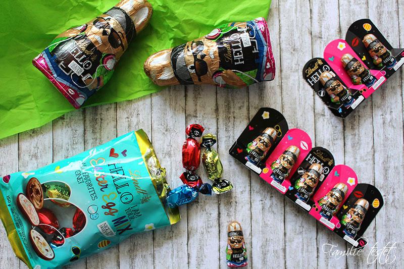 Lindt Schokolade Osterhase Geschenkanhänger