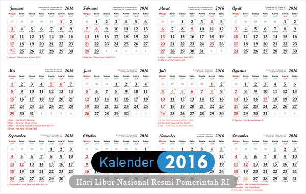 Template Kalender 2015-2016 Tanggalan Hijriyah Jawa - Template ...