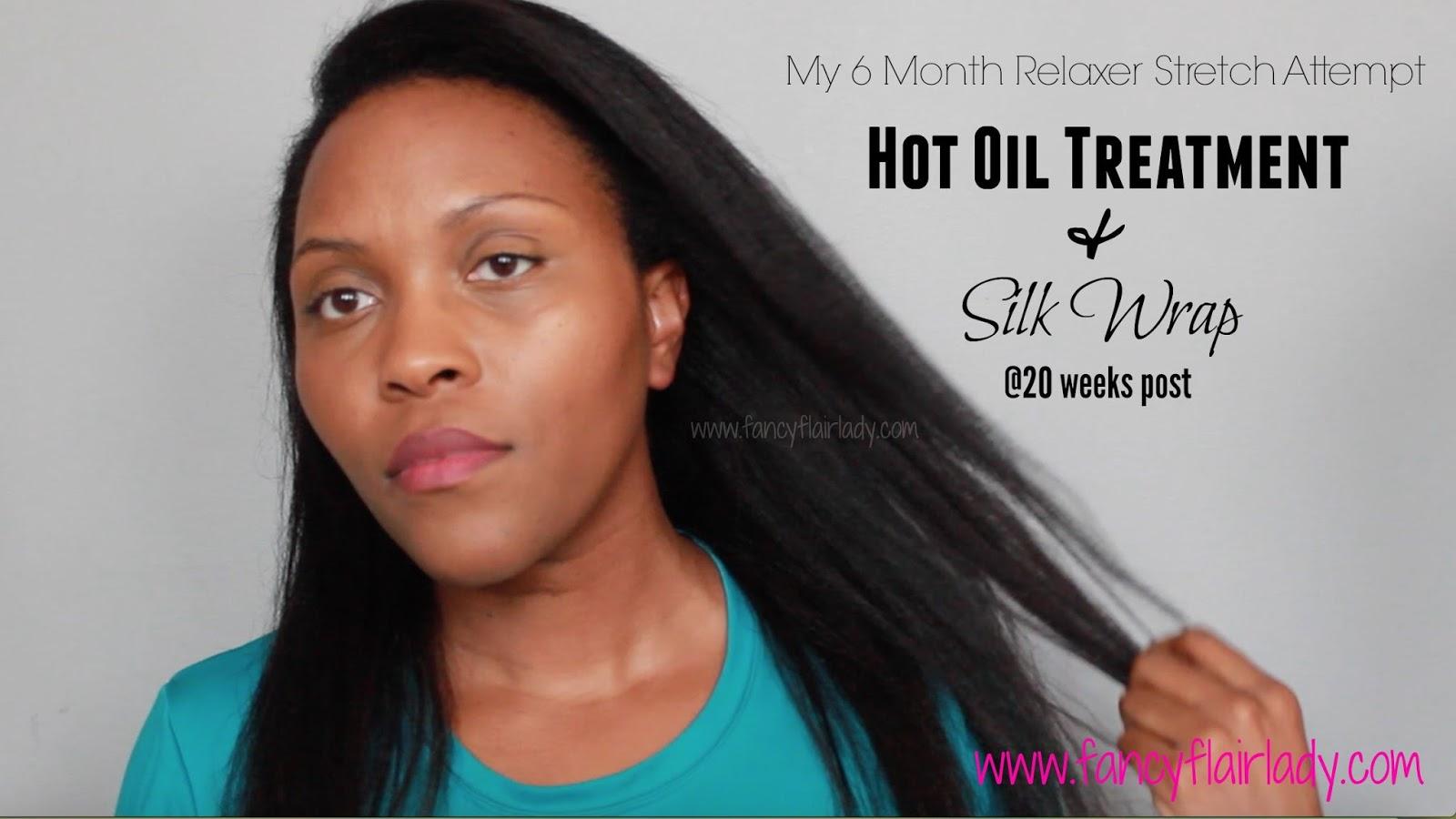 Hot Oil Treatment Coconut Oil Natural Hair
