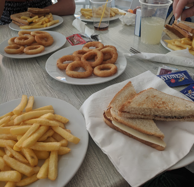 Pirates Village Santa Ponsa | Jet 2 Holidays Review  - snack bar toastie and chips