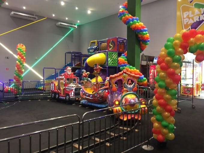 Sua festa tem mais cara de festa no play do park do Rio Tapajós Shopping