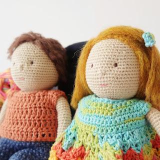 amigurumi crochet lovers tutorials
