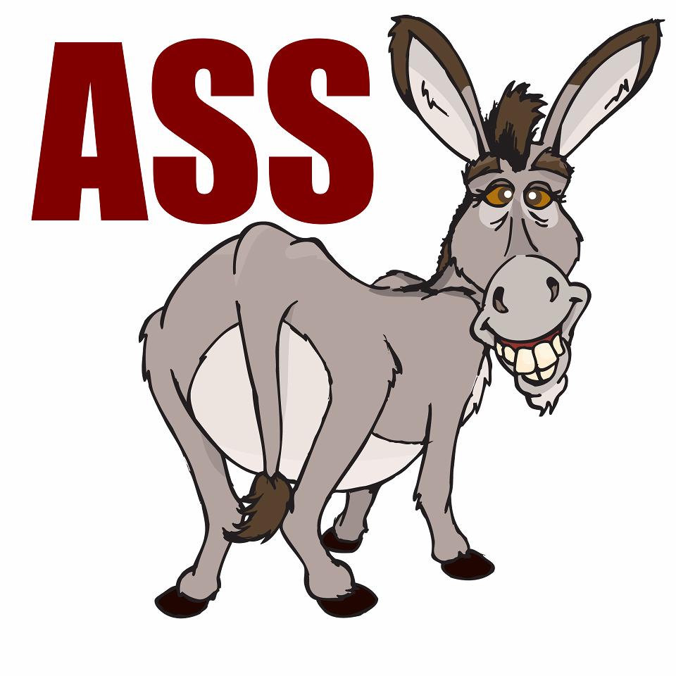 cartoon ass