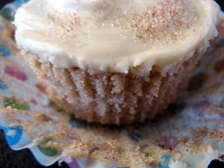 January new+038a Snickerdoodle Cupcakes with Brown Butter Icing and Cinnamon Sugar Sprinkles