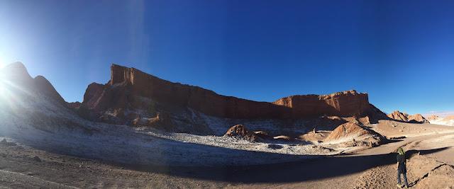 O impressionante Anfiteatro, no Valle de la Luna