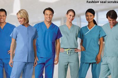 fashion seal scrubs