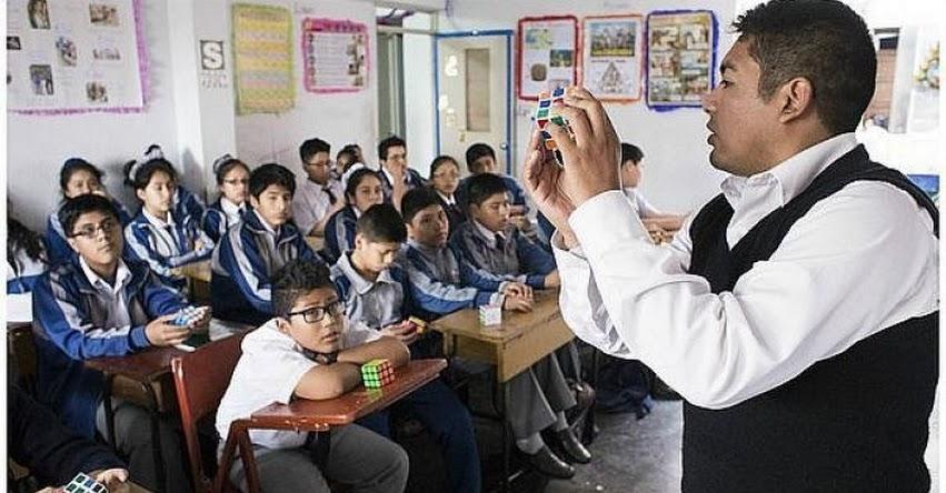 MINEDU incrementa cobertura de educación inicial y secundaria - www.minedu.gob.pe