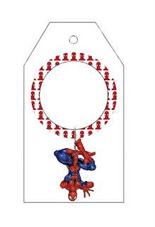 Para marcapáginas de Spiderman.