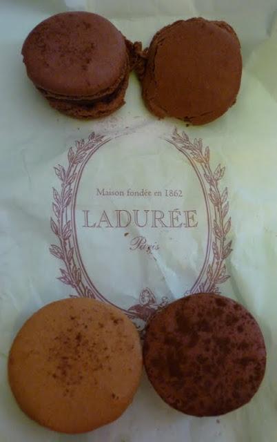 Laduree Macaroons from Harrods London
