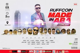 Made In Aba Concert With RuffCoin Nwaba