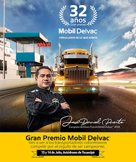 POS Gran Premio 32 Mobil Delvac de TRACTOMULAS