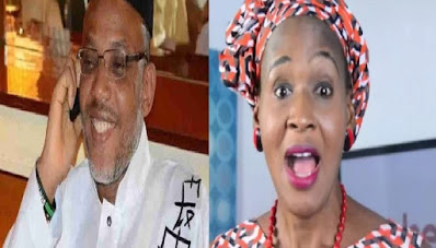 US Trained Nigeria Medical & Investigative Journalist, Dr. Kemi Olunlowo has reaffirmed the alleged death of IPOB Leader Mazi Nnamdi Kanu, which she said died in an Italian Hospital.  Kemi disclosed this via her Twitter page, where she said a top military defense dept source briefed her on the demise of the IPOB Leader. She went on to say that the last video/radio broadcast made was fabricated in other to keep the Indigenous People of Biafra (IPOB) together.