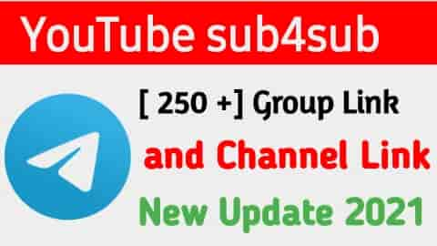 [ 250 + ]] YouTube SUB4SUB Telegram Group join 2021 !! How to join telegram group link