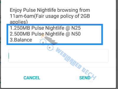 HOW TO ACTIVATE MTN PULSE NIGHT PLAN