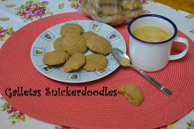 GALLETAS SNICKERDOODLES