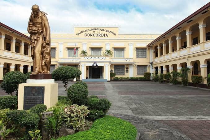 Colegio de la Inmaculada Concepción de la Concordia established in 1868 Photo credits to La Concordia College page