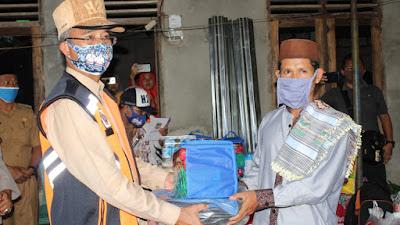 Bupati Musi Rawas Berikan Bantuan Kebakaran Ke Ponpes Syarif Hidayatullah