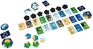 Planet the Goard Game Components