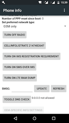 Error Code 21 unable to send SMS from android mobile