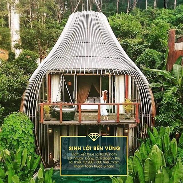 Dự án Sakana Resort Hòa Bình Hồ Dụ Kỳ Sơn, Hòa Bình biệt thự nghỉ dưỡng cao cấp ven đô