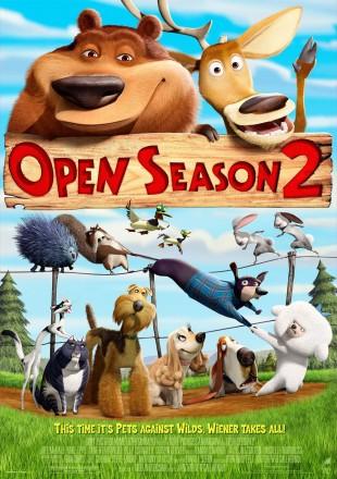 Open Season 2 2008 BRRip 720p Dual Audio