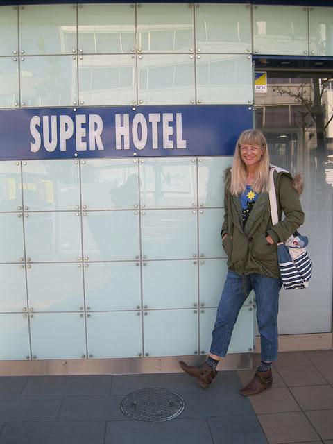 Super Hotel, Niigata City, Niigata Prefecture.