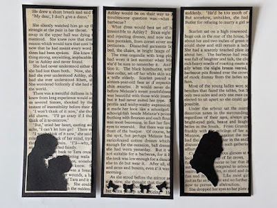 Gone with the Wind themed bookmarks
