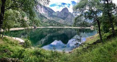 Lago di Antrona (Verbania) Giro ad anello