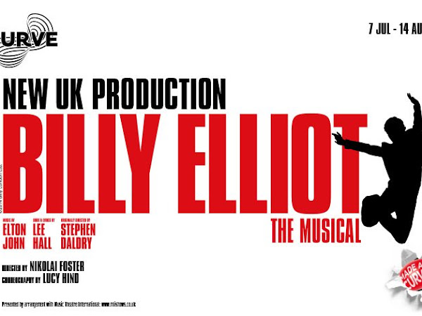 Leicester's Curve Theatre To Stage First New UK Production of Billy Elliot