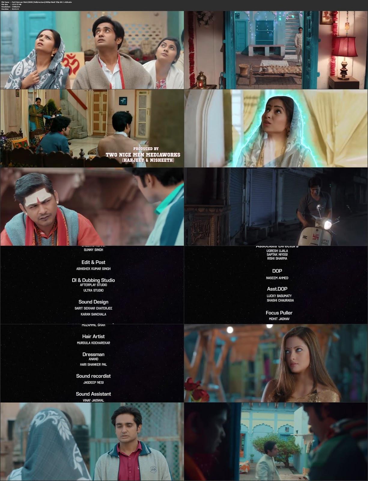 Pati Patni aur Woh 2020 HDRip 1.4GB Hindi S01 Complete Download 720p